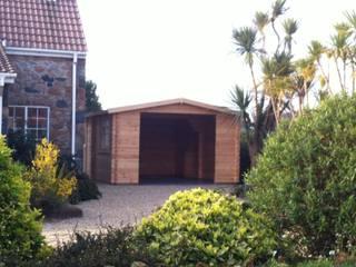 Wooden garages Classic style garden by Quick garden LTD Classic