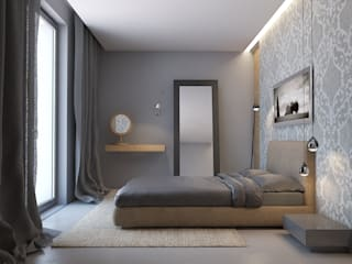 Minimalist bedroom by MOCOLOCCO Minimalist