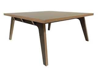 Zinn Squared  - Coffee Table: minimalist  by SOAP designs, Minimalist