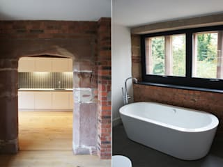Bewsey Old Hall:  Bathroom by Pearson Architects