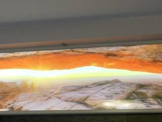 Panele dekoracyjne Led Crystal Nowoczesna łazienka od Visual Design Nowoczesny