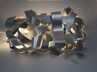 Roseto di Andrea Olivazzo_Light Sculptures Moderno