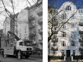 Zinshaus in Eppendorf: modern  von Andreas Edye Architekten,Modern