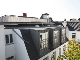 Zinshaus in Eppendorf Moderne Häuser von Andreas Edye Architekten Modern
