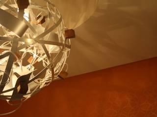Pianeta Cubo:  in stile  di Andrea Olivazzo_Light Sculptures