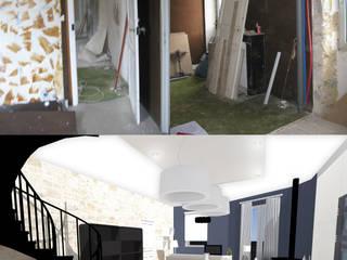Гостиная в стиле модерн от Uniq intérieurs Модерн
