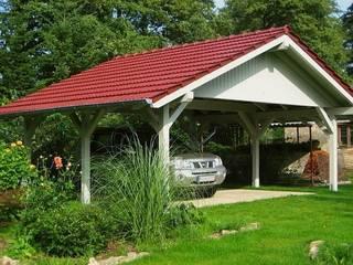 Wiata ANNAKO: styl , w kategorii Garaż prefabrykowany  zaprojektowany przez Ogrodolandia