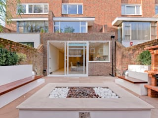 Private House - Holland Park New Images Architects Balcones y terrazas de estilo moderno