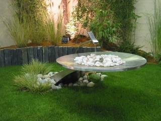 fontaine Jardin moderne par AMB Moderne