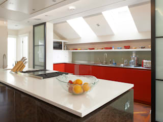 St Peter's Road, London Nigel Bird Architects Modern style kitchen