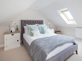 Cotswold Cottage Country style bedroom by Emma & Eve Interior Design Ltd Country