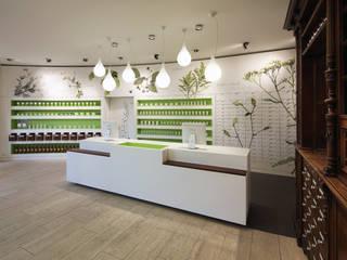Apotheke am Wilhelmplatz Bonn Moderne Ladenflächen von raumkontor Innenarchitektur Architektur Modern