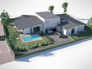 Indipendent villas: Case in stile  di ReHabitat