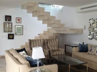 casa 12 Pasillos, vestíbulos y escaleras modernos de Hussein Garzon arquitectura Moderno