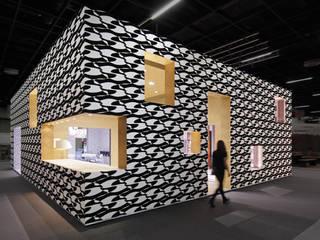 Messestand Deutsches Tapeten-Institut - imm 2014 Ausgefallenes Messe Design von raumkontor Innenarchitektur Architektur Ausgefallen