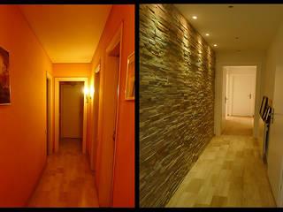 Couloir avant/après:  de style  par EN Intérieur