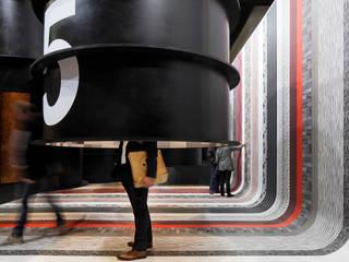 Messestand Deutsches Tapeten-Institut - imm 2015:  Messe Design von raumkontor Innenarchitektur Architektur