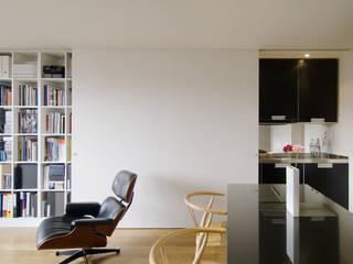 Salas de estar minimalistas por RDLC Minimalista
