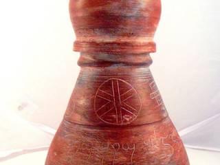 Vases céramique raku , urne, vase canope , soliflore par Raku Vibration Éclectique