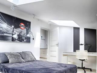 Pokój studenta : styl , w kategorii Sypialnia zaprojektowany przez DP Concept