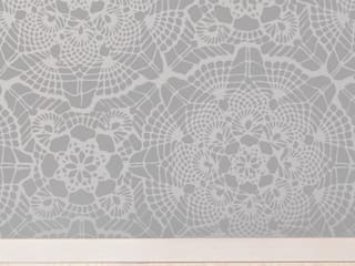 Vintage Lace wall stencils:   by Stencil Up