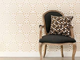 Moroccan inspired lattice wall stencils: mediterranean  by Stencil Up, Mediterranean