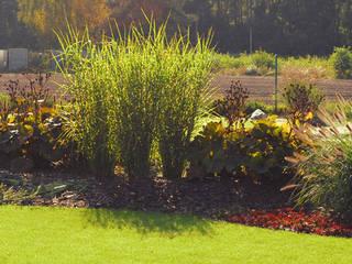 ogród wtopiony w krajobraz od Autorska Pracownia Architektury Krajobrazu Jardin Eklektyczny