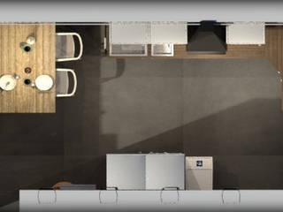 Plan cuisine Après:  de style  par DecoBox