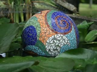 Sphère flottante:  de style  par Florence OLMI