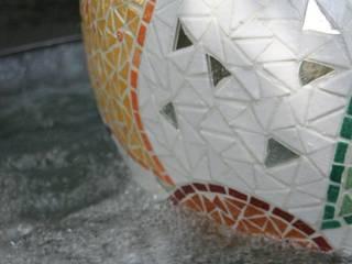 Atm'O'sphères....des sphères flottantes en mosaique:  de style  par Florence OLMI