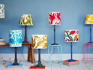Colourful Mexican lampshades by Montes & Clark:   by Montes & Clark