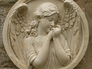 Cherub & Angel Garden Ornaments par Marble Inspiration Classique