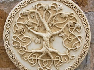 TREE OF LIFE wall plaque:   by Marble Inspiration