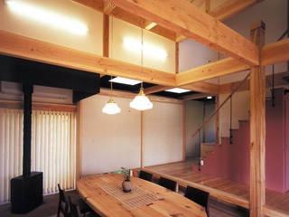 土間の家 オリジナルデザインの 多目的室 の アトリエ優 一級建築士事務所 オリジナル
