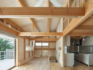 ハダカの家 オリジナルデザインの 多目的室 の アトリエ優 一級建築士事務所 オリジナル