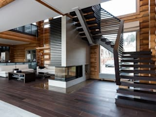 Pasillos, vestíbulos y escaleras de estilo ecléctico de LOFTING Ecléctico