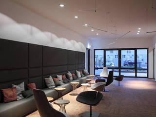 Neue Bürowelten – my place* - adesso AG Hauptsitz Dortmund:  Bürogebäude von raumkontor Innenarchitektur Architektur