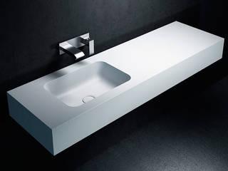 Lavabo de Corian® TORONTO con Encimera a medida. Baños de Autor BañosLavabos