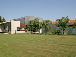 EFH Landmarke dürschinger architekten Industrialer Garten