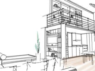 Lagny Salon industriel par D.Interior Industriel