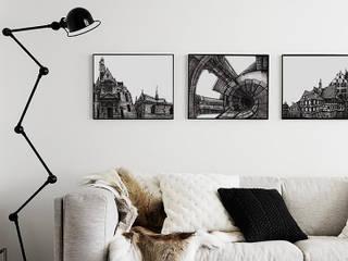 Постеры-графика от Dariya Dranishnikova Классический