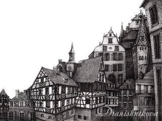 Старый город: Произведения искусства в . Автор – Dariya Dranishnikova