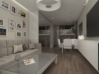 Minimalist living room by Pure Design Minimalist