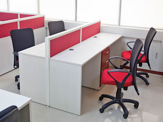 Office Cubicle System Modern office buildings by Comfort Office Zone Modern