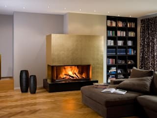 Chiemsee Öfen Living roomFireplaces & accessories