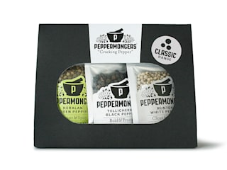 Peppermongers Classic Gift Set - product shot front:   by Salthouse & Peppermongers