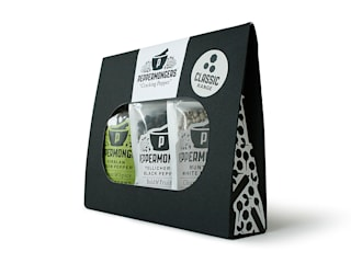 Peppermongers Classic Gift Set - product shot side:   by Salthouse & Peppermongers