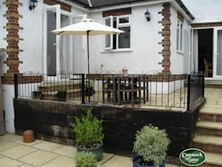 Winchester Metal Rialings from Cannock Gates Lifestyle: classic Garden by Cannock Gates Ltd