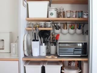 Cocinas de estilo escandinavo de 一級建築士事務所 iie design Escandinavo