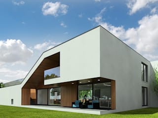 Casas de estilo  por D C K,